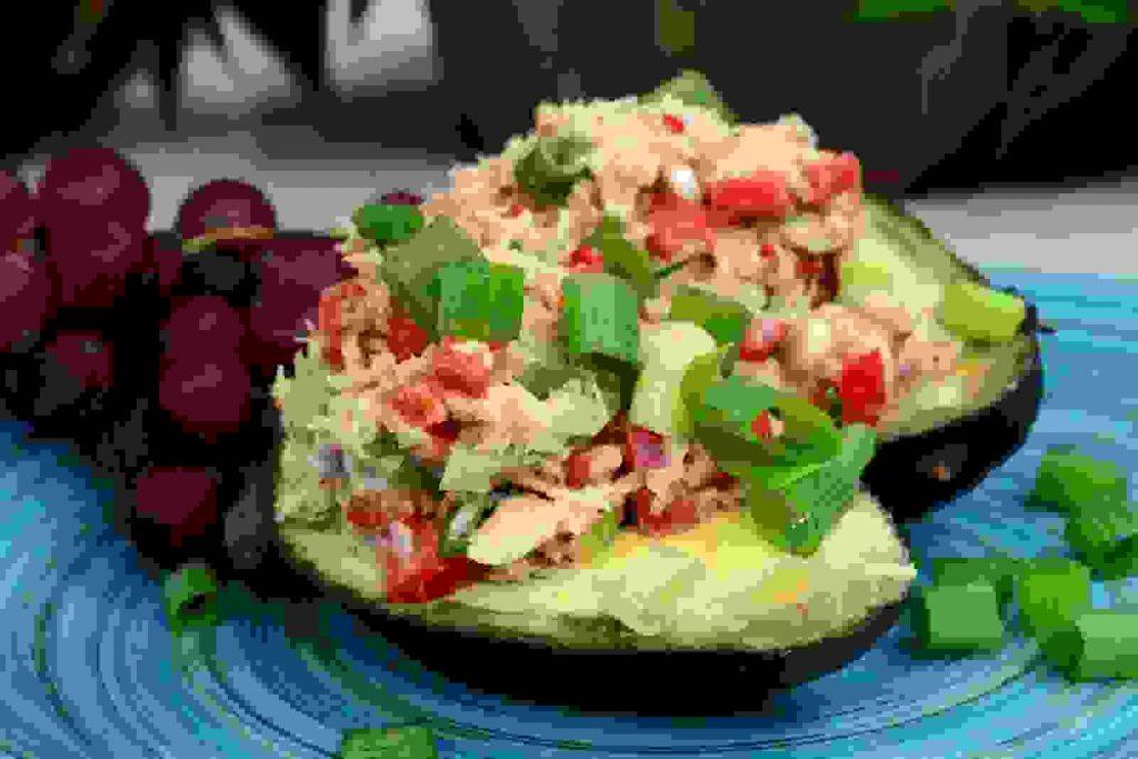 Avocado and Tuna Tapas